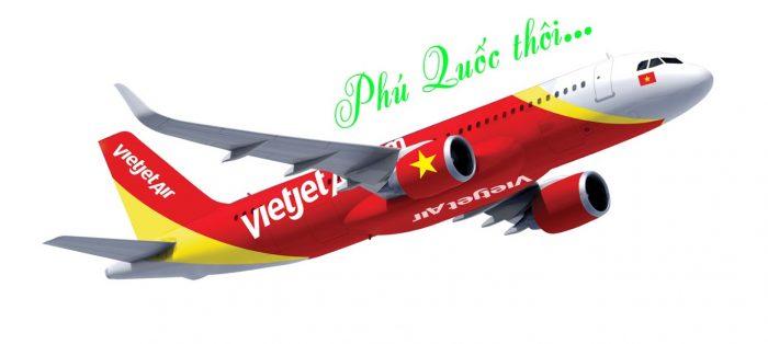 Đi máy bay tới Phú Quốc