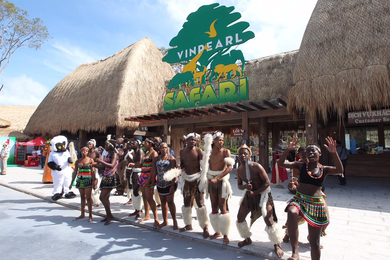 Vinpearl Safari Phú Quốc có gì?