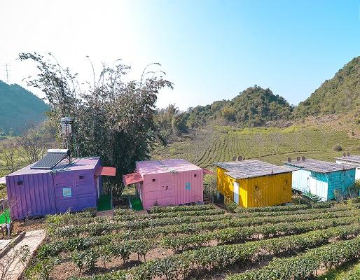 Mộc Châu Arena Village – Nhà container