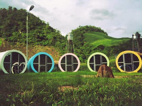 Happy Land – Nhà ống tròn