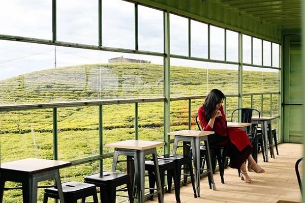 Cafe Cầu đất farm Đà Lạt