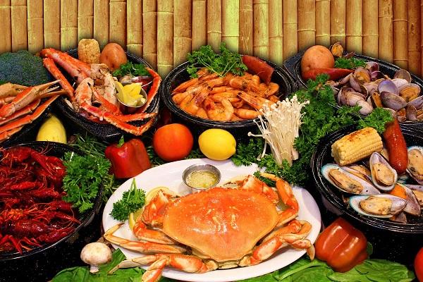 hải sản biển tươi sống