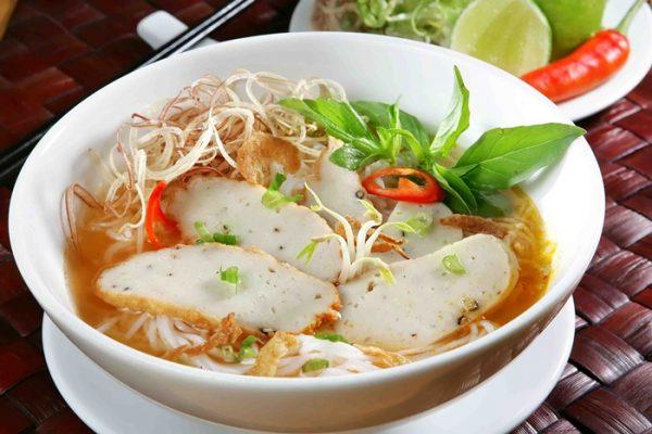 Bún chả cá Quảng Ngãi
