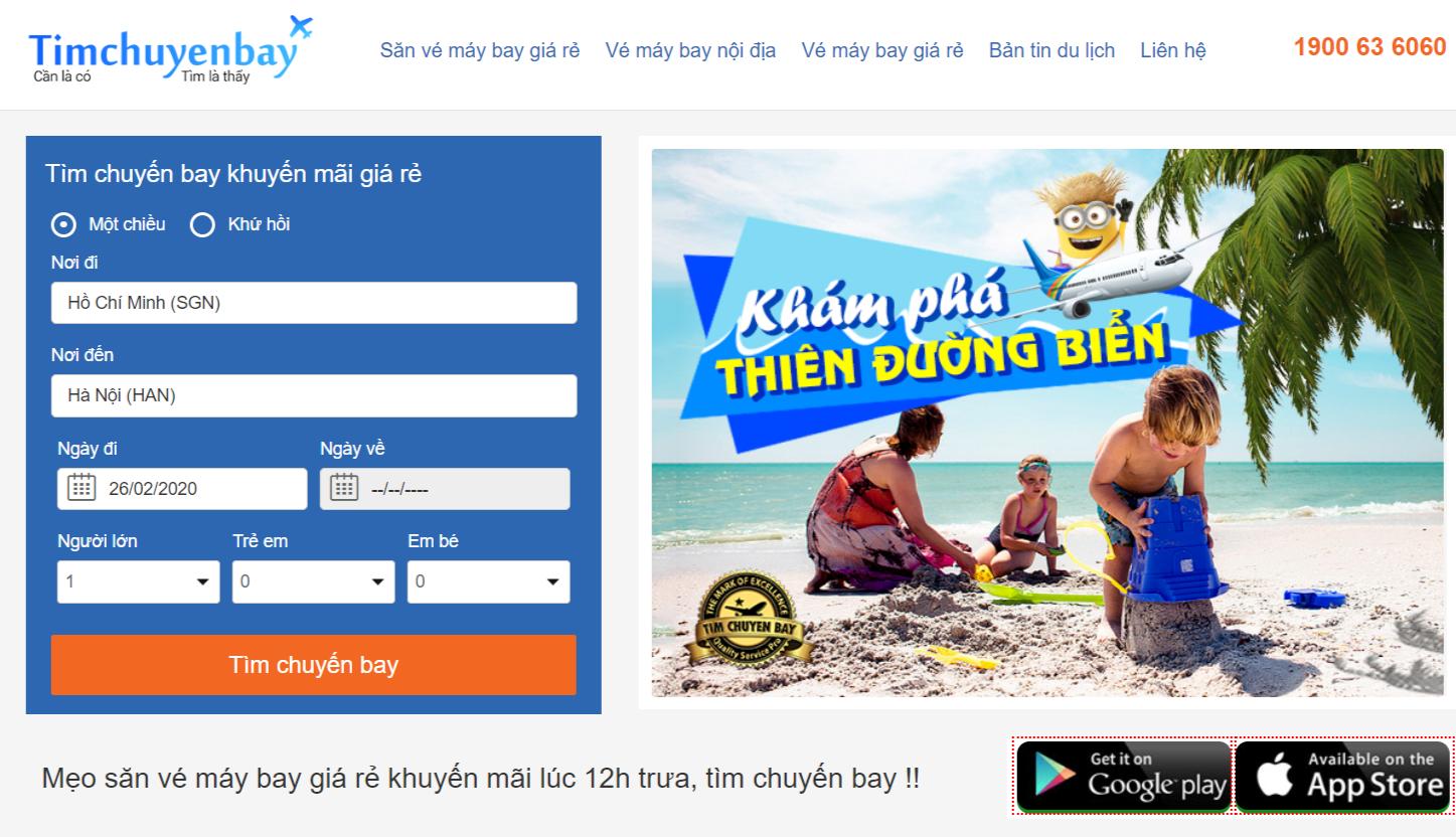 """Timchuyenbay.com - địa chỉ đặt vé máy bay giá rẻ do những người yêu thích chủ nghĩa """"xê dịch"""""""