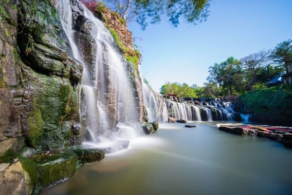 khu du lịch thác Đá Hàn
