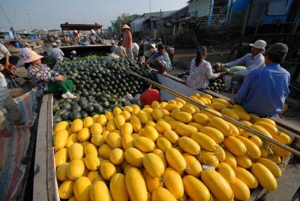 Chợ nổi Ngã Bảy