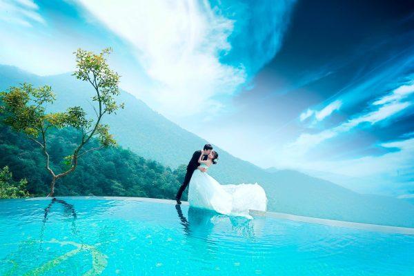 """Bể bơi vô cực view """"cực đỉnh"""" ở Tam Đảo là điểm"""